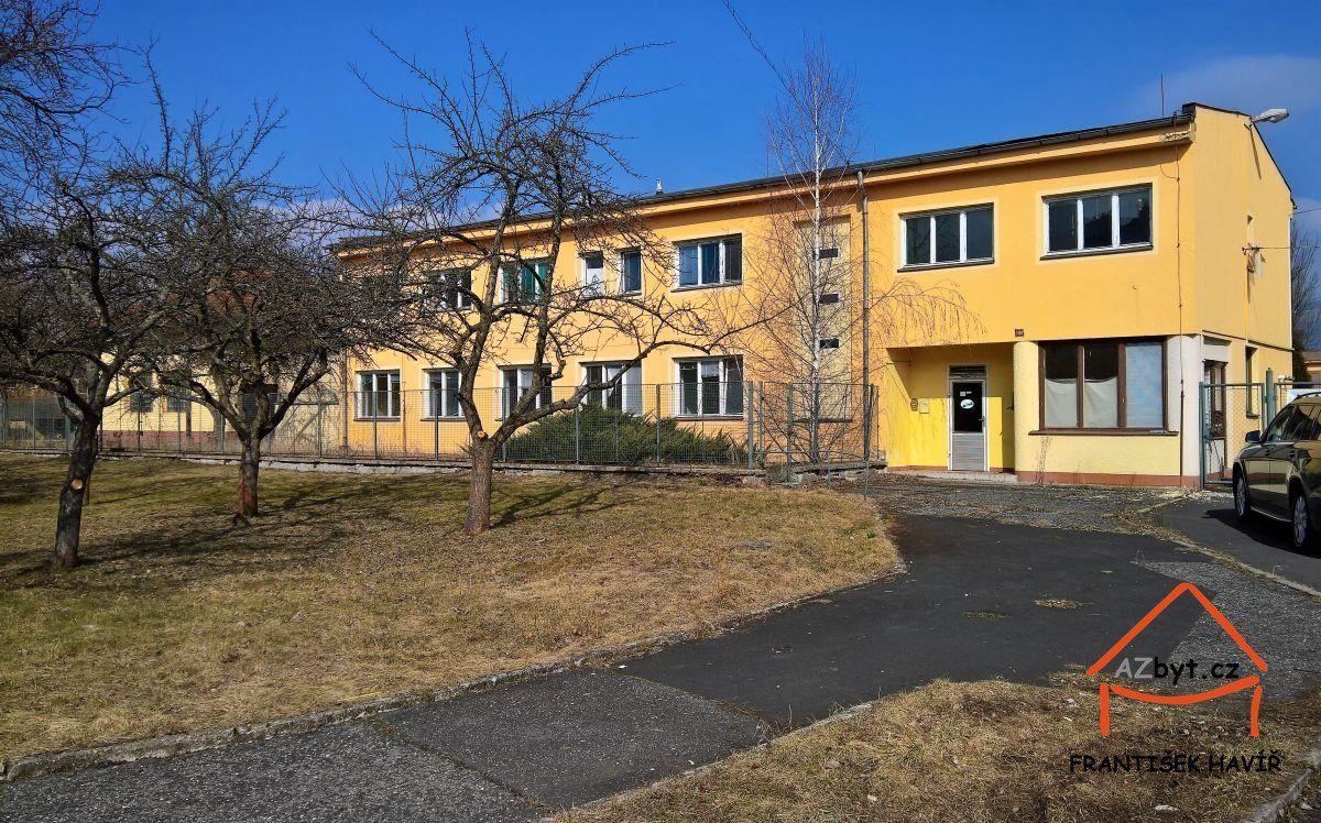 Prodej dvoupodlažní budovy cca 520 m2 v Ostrově, U nemocnice 1190