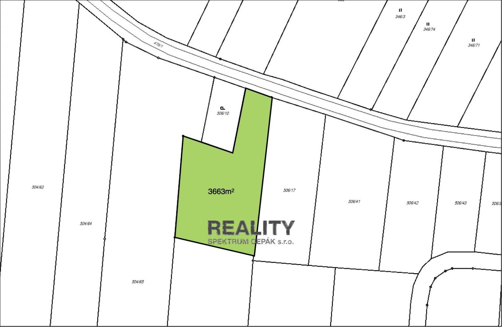 Prodej, Pozemky - zahrady, 3663m2 - Hůry