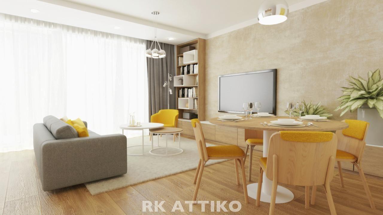 Nový půdní byt OV 4kk Žabovřesky CP 134 m2, 2 terasy, sklep, vlastní parkování.