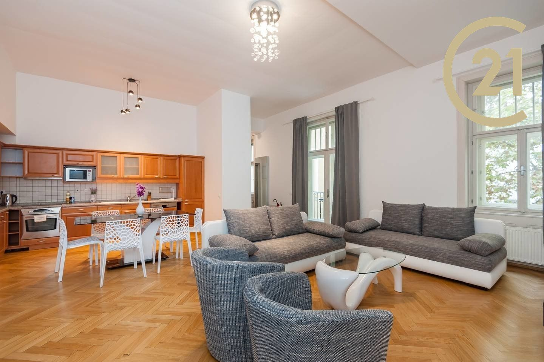 Pronájem bytu 1+kk, 48 m2 - Praha 1