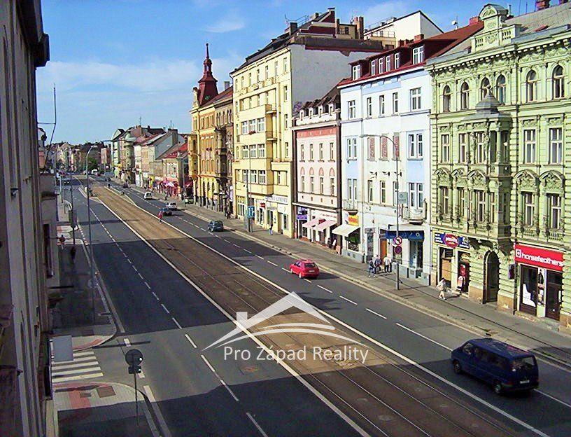 Pronájem výrobních nebo  obchodních prostor v centru Plzně, 230 m2