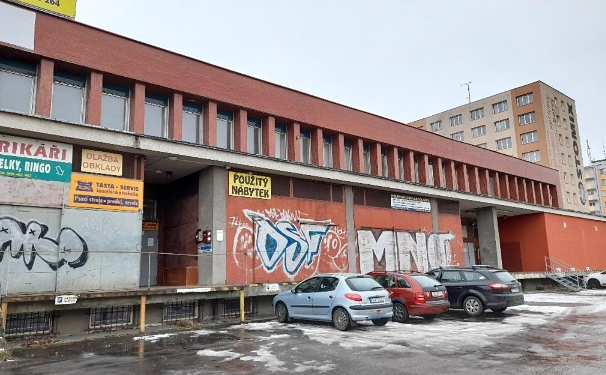 Pronájem skladovacích prostor cca 400 m2, ulice Fr. Ondříčka, České Budějovice