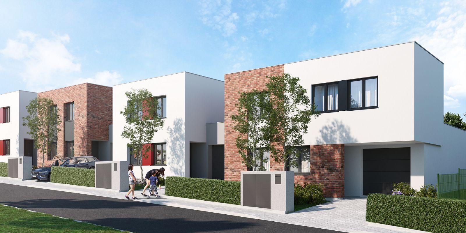 Prodej nového rodinného domu 159m2 na pozemku 286m2