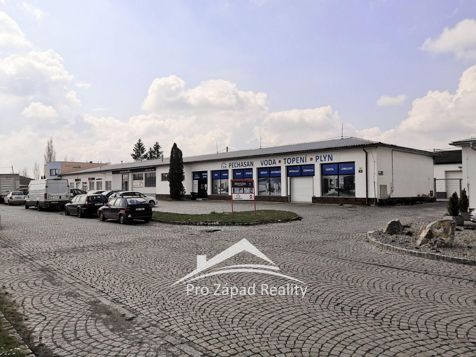 Pronájem skladové nebo výrobní plochy 297m2 - Plzeň - Koterov