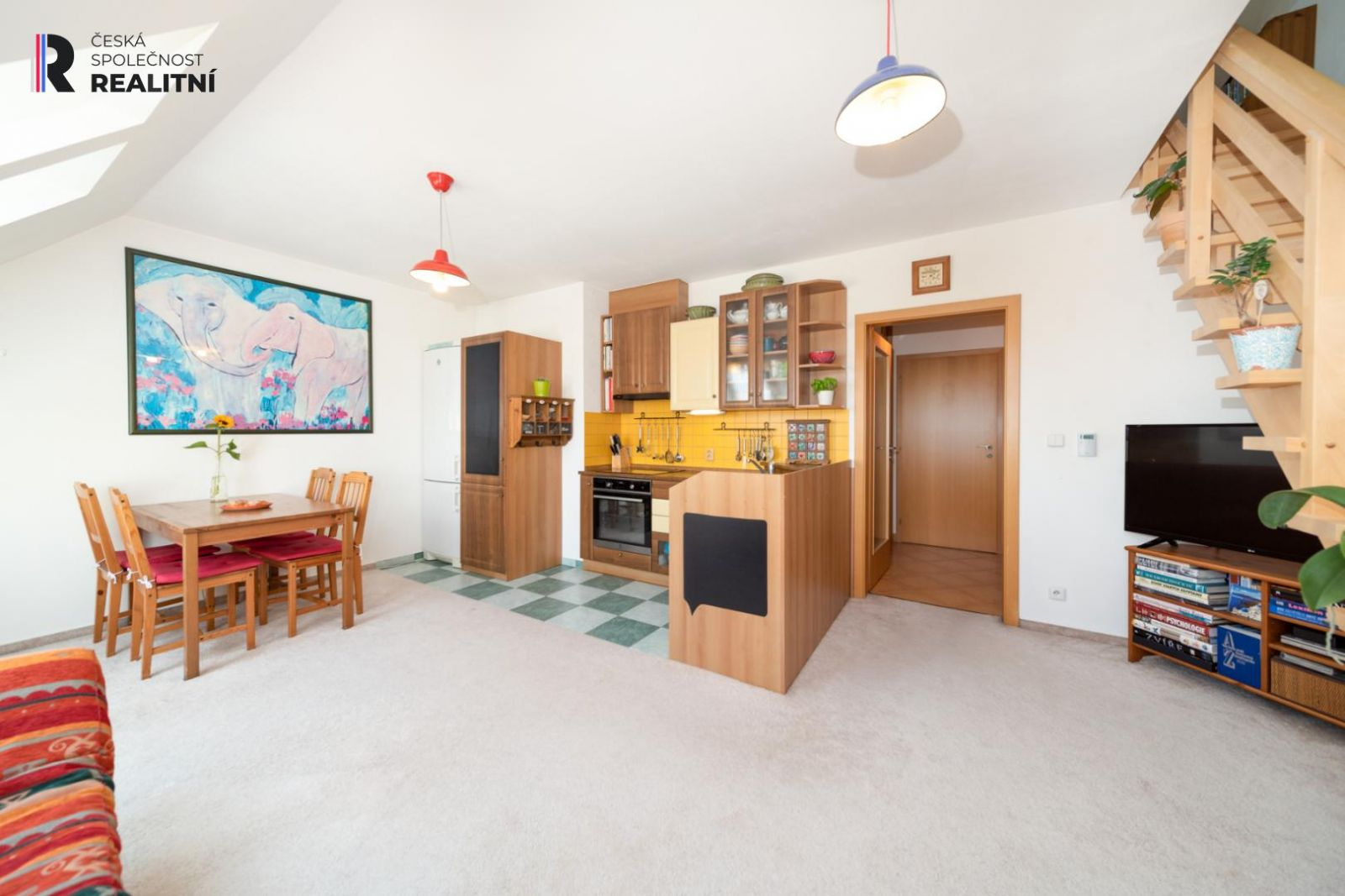 Kupte si atypický byt 3+kk na fantastickém místě v Praze - na rozhraní městské  části Motol a Řepy -
