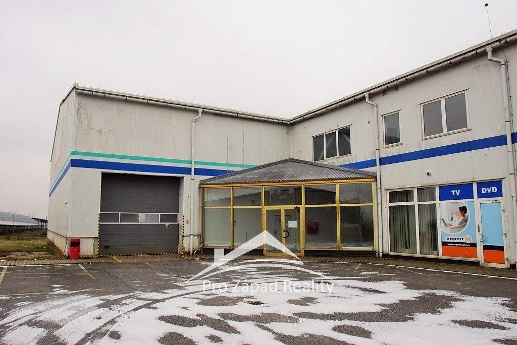 Pronájem komerčního areálu 1723 m2, Meclov u Domažlic