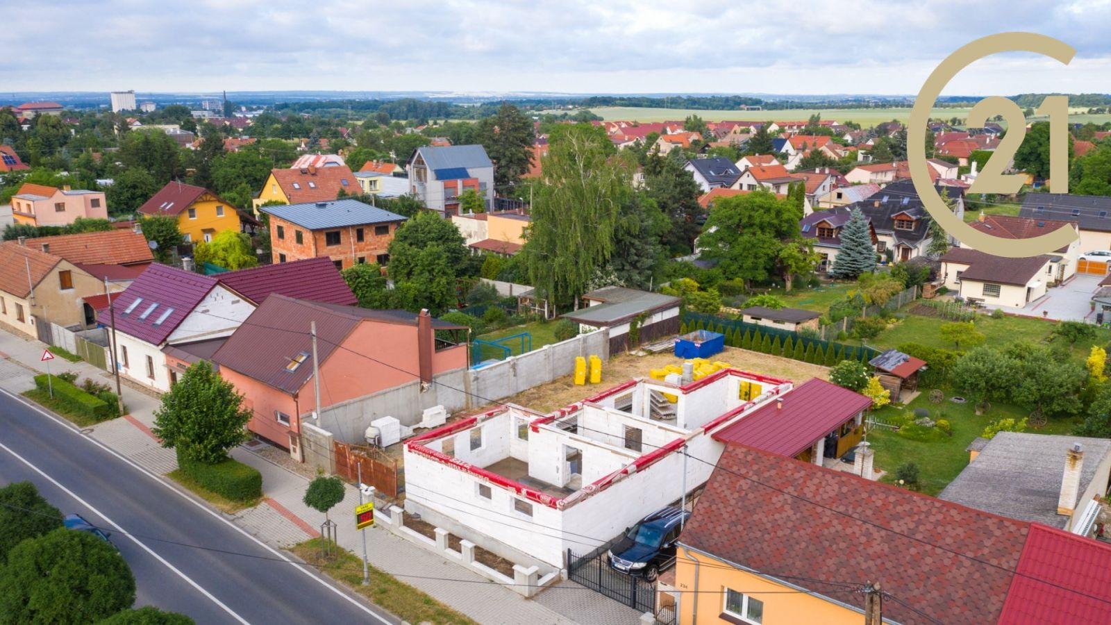 Prodej RD Líbeznice, ul. Mělnická o rozloze 630 m2