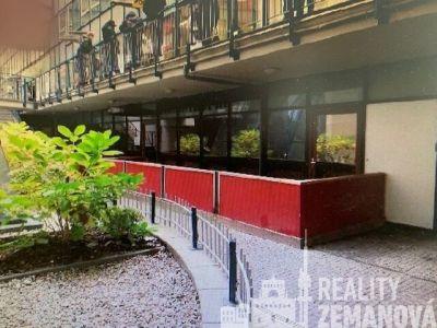Dělitelný obchodní prostor 487 m2 na Vinohradech