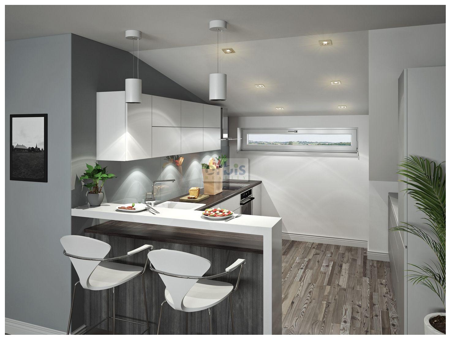Novostavba bytů 3+kk, 67,55m2, Kladno-Dubí