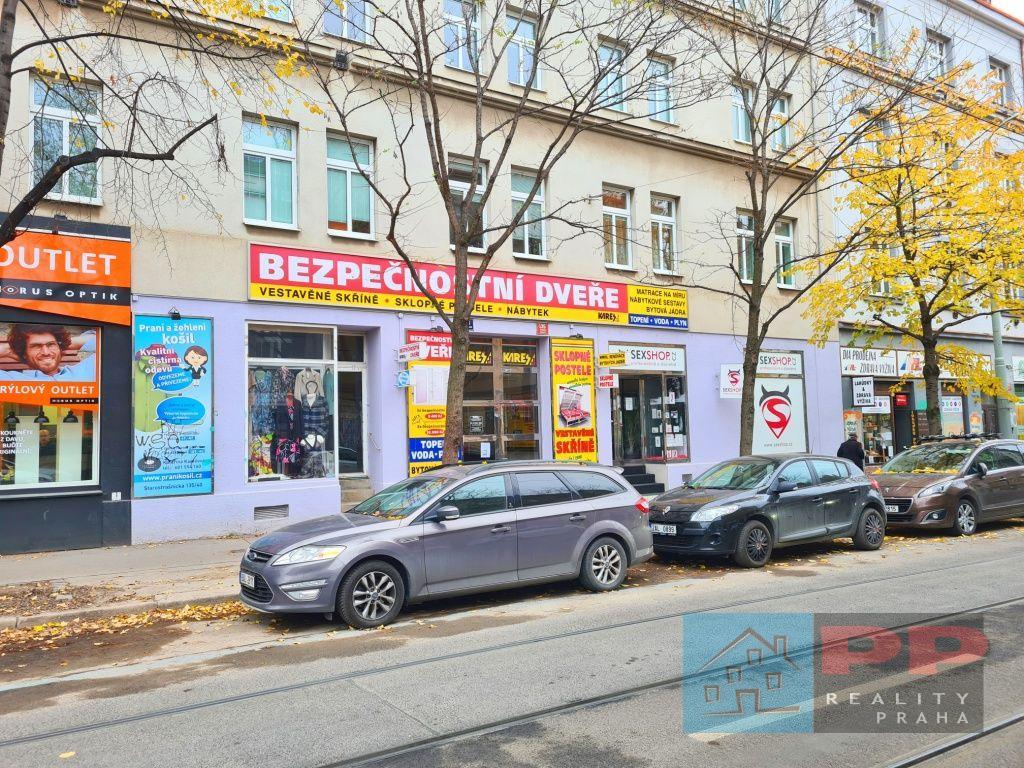 Pronájem obchodních prostor  183m2, Praha 10 - Strašnice, ul. Starostrašnická