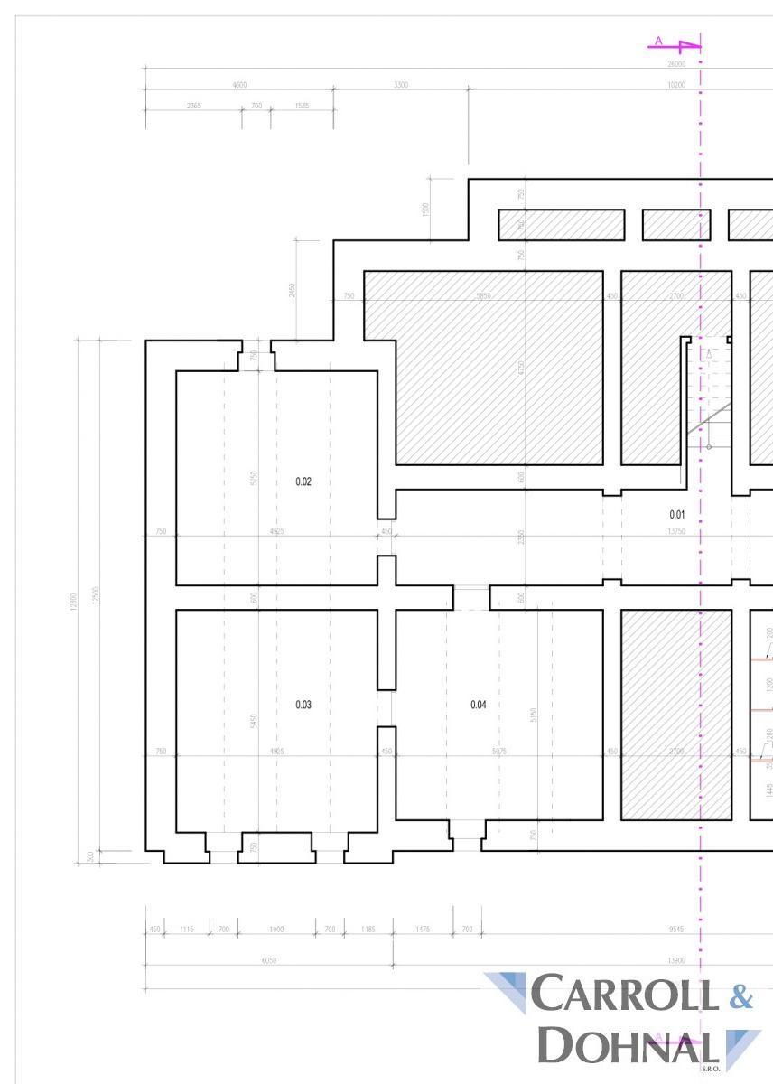 pronájem 80 m2 archivu - spisovny s posuvnými regály v centru Ostravy