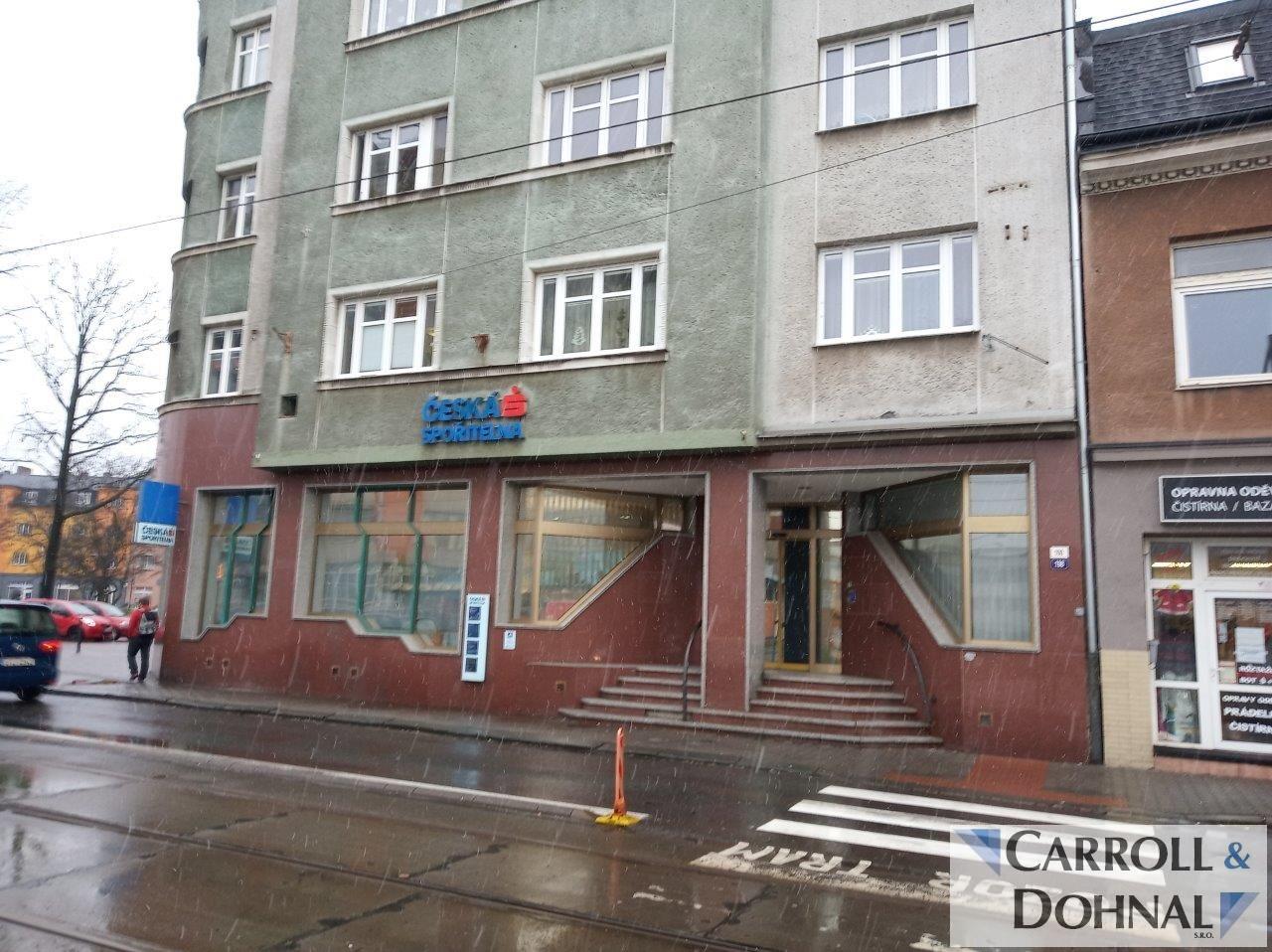 Prodejna 366m2, Mariánské náměstí, Ostrava