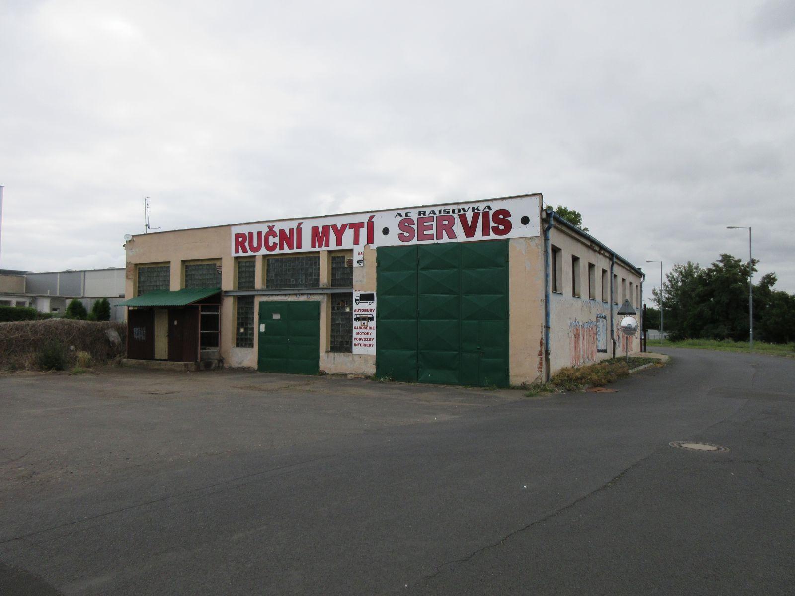 Prodej komerčního objektu v Chomutově