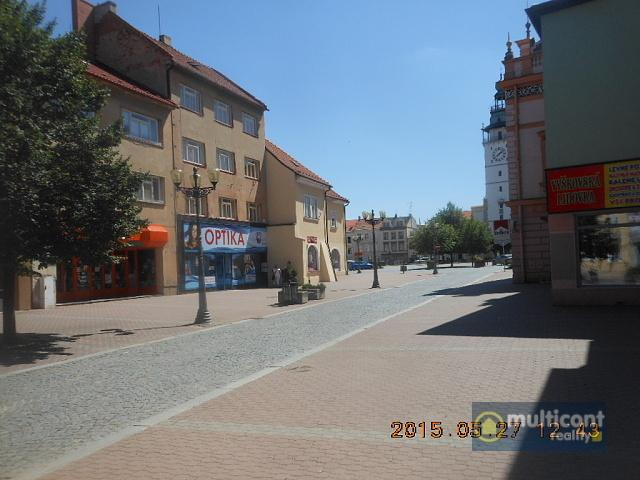 Pronájem komerčních prostor v centru Vyškova