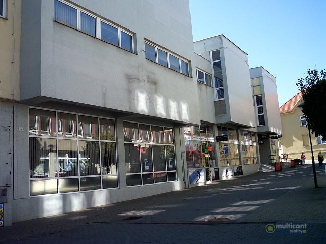 Obchodní a kancelářské prostory v centru Vyškova