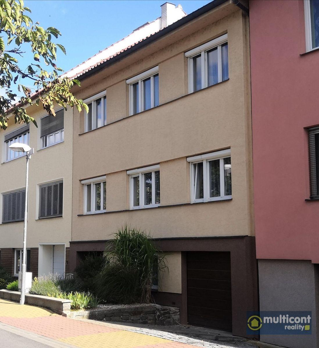 Městský dům se dvěma byty ve Vyškově