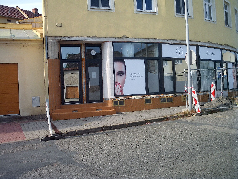 Pronájem obchodních prostor v centru Vyškova