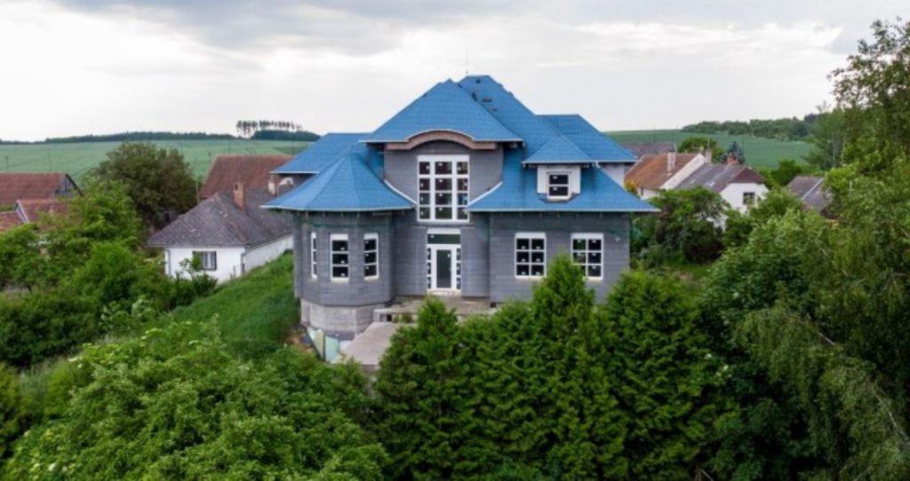 Rozestavěná stavba vily Residence Vranín, Moravské Budějovice