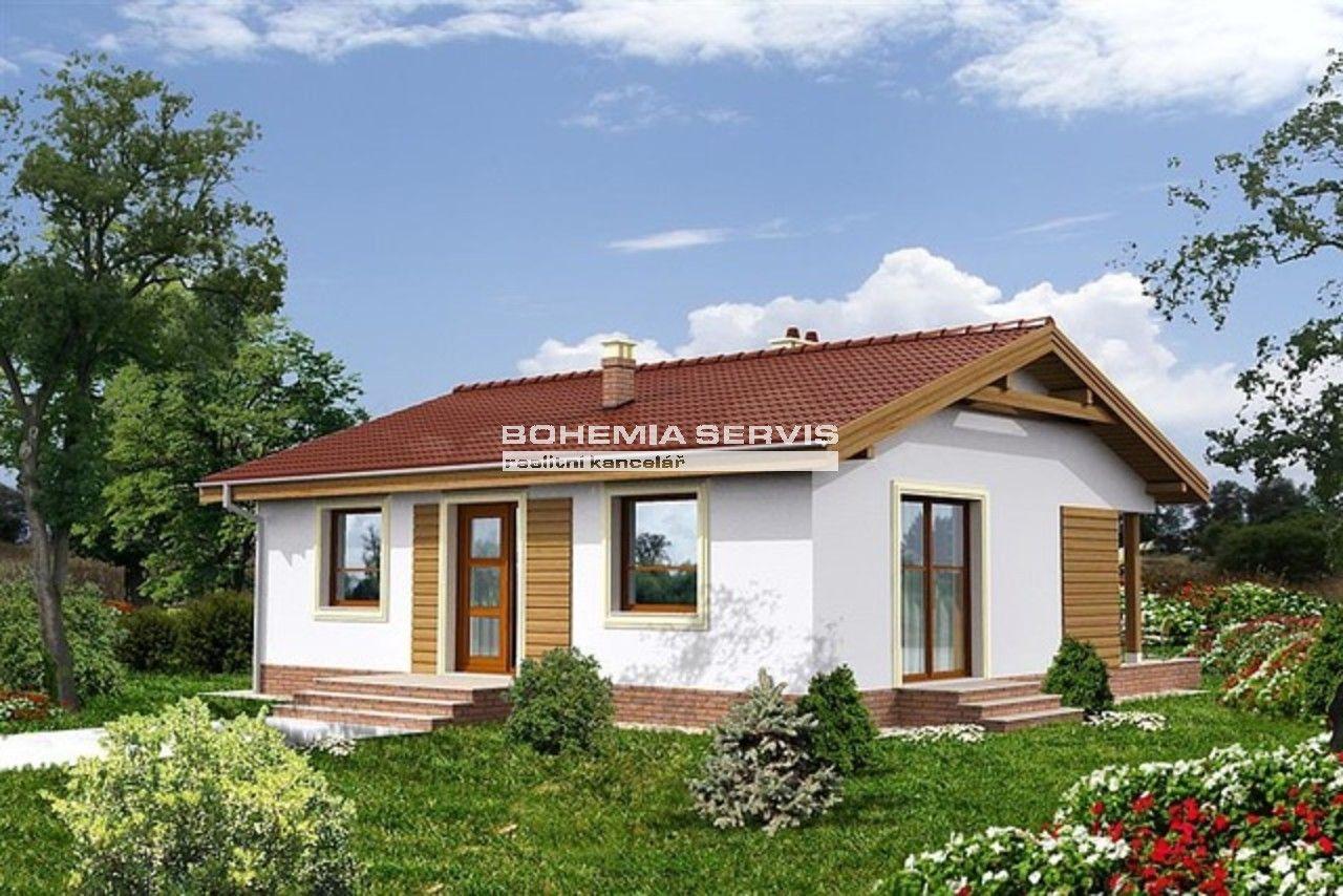 Dřevostavba moderního domu 3+1 kompletně na klíč