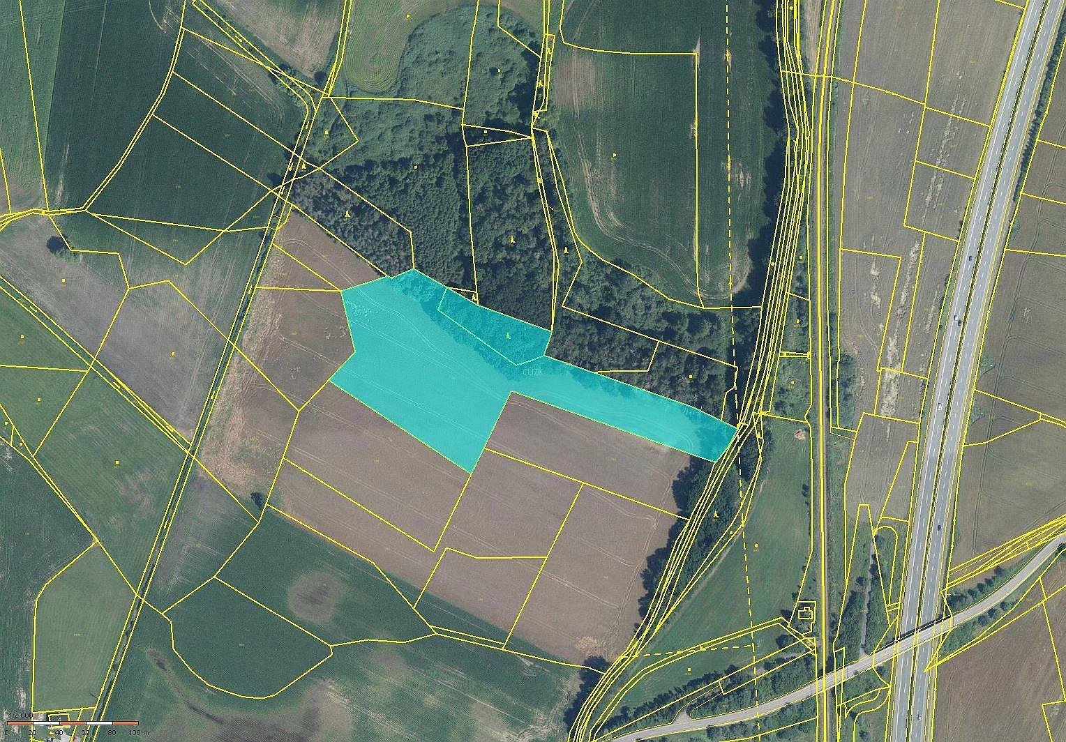 Prodej zemědělského pozemku v k.ú. Pohránov okres Pardubice