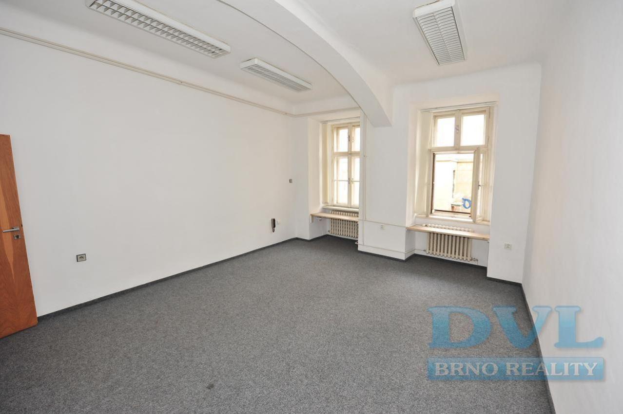 Kancelářské prostory 45 m2 - Brno-střed, ul. Novobranská