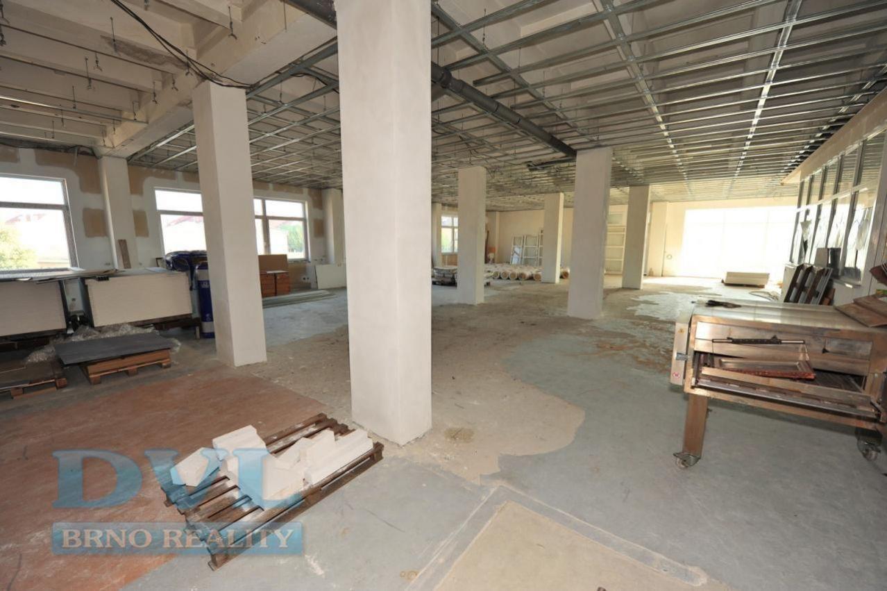 Kancelářské prostory 449 m2 - Brno-střed, ul. Čechyňská.