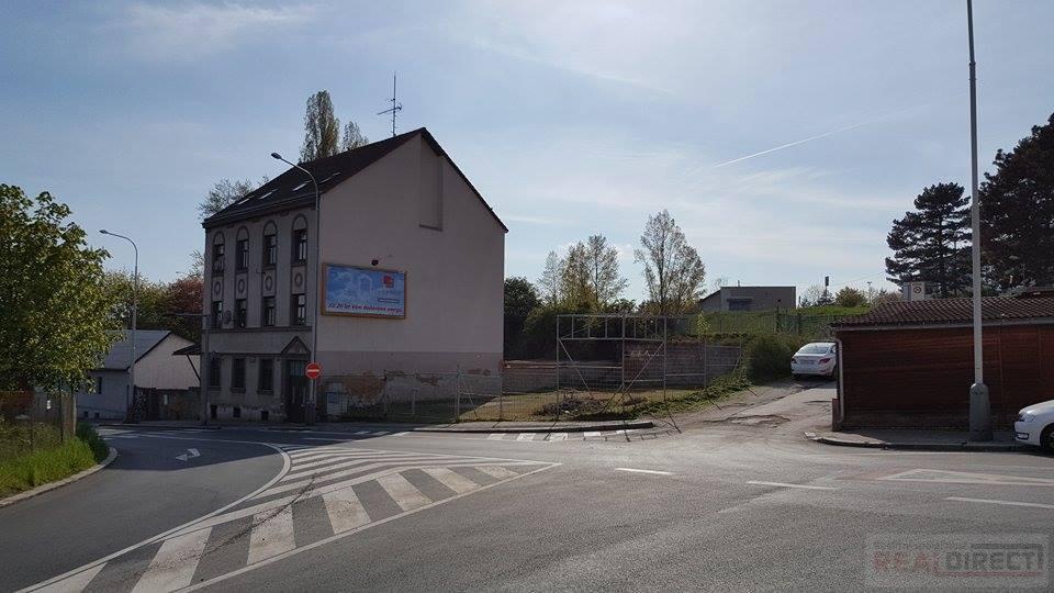 Prodej stavebního pozemku 559m2 (bytový dům),