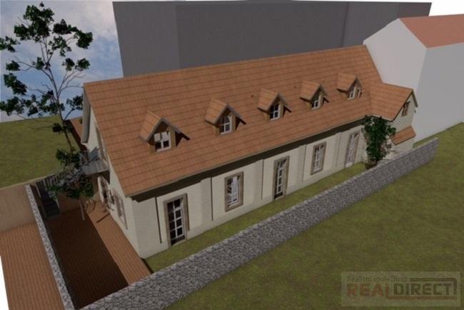 Prodej historického domu k rekonstrukci se SP, ul. Povltavská, Praha 7, Troja