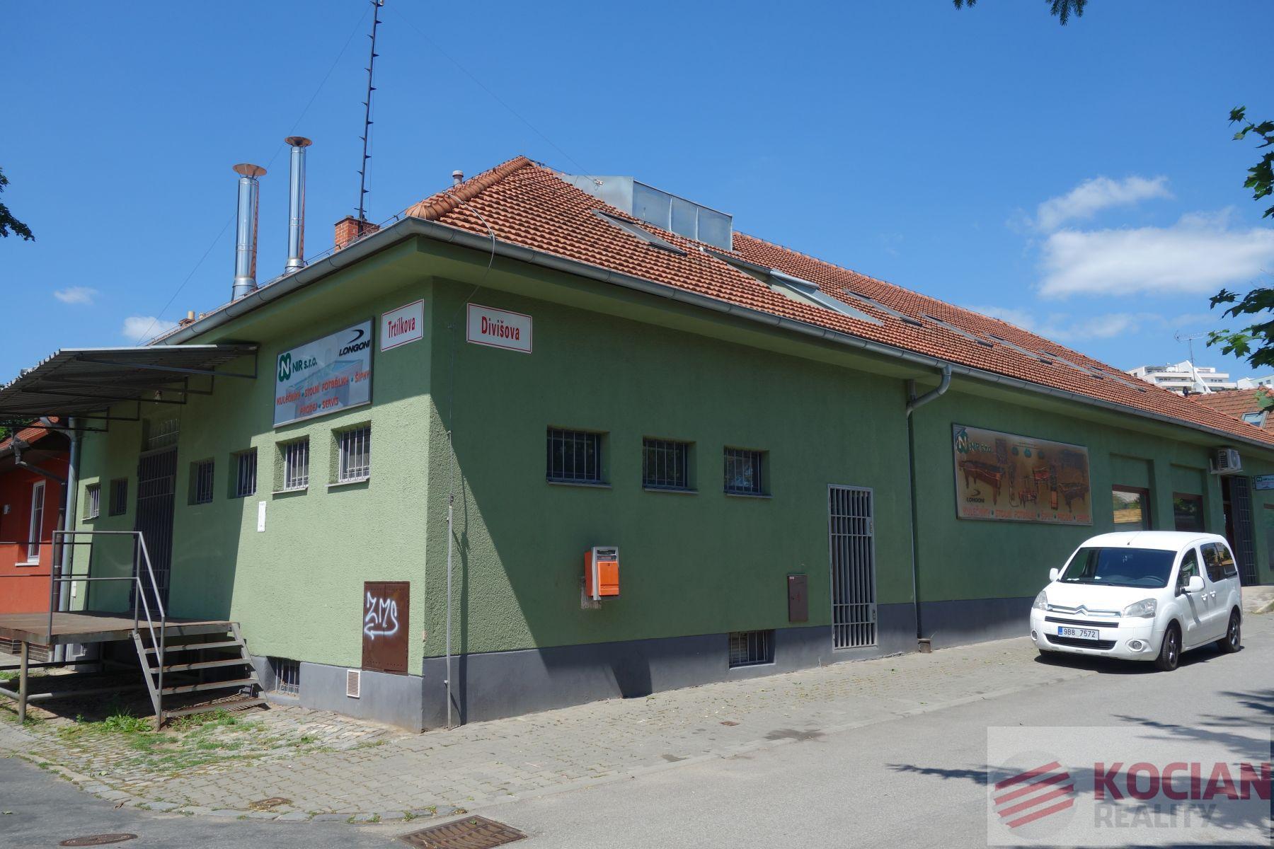 Prodej komerční budovy v Brně-Lesná