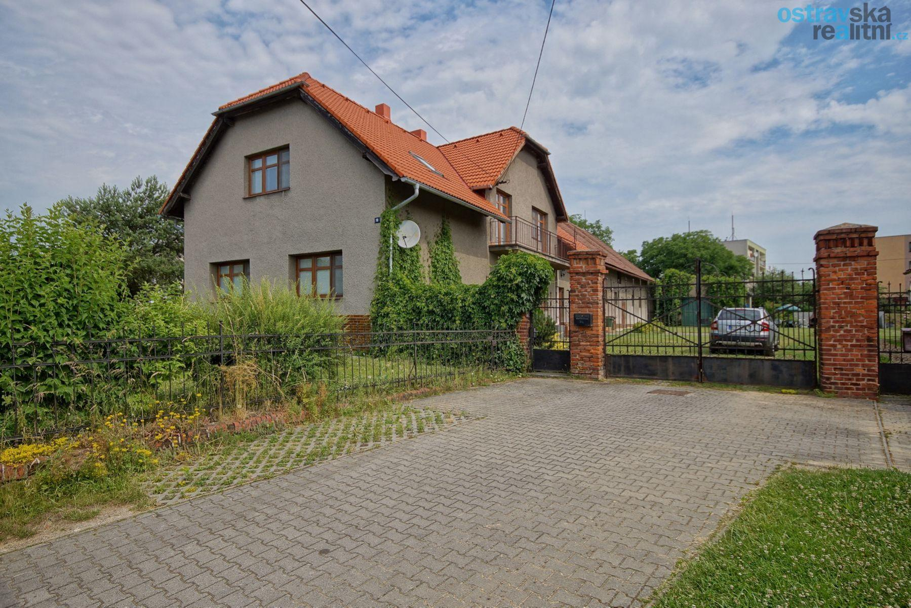Prodej, dům 4+1 a 2+1, Velká Polom, velká zahrada