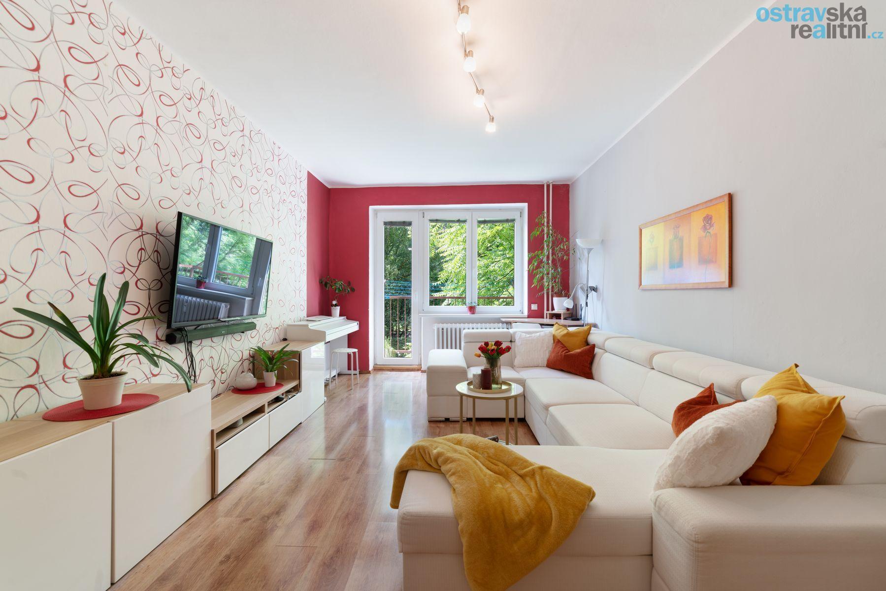 Prodej, byt 2+1 Ostrava - Poruba, ul. Mongolská, 56 m2, balkón