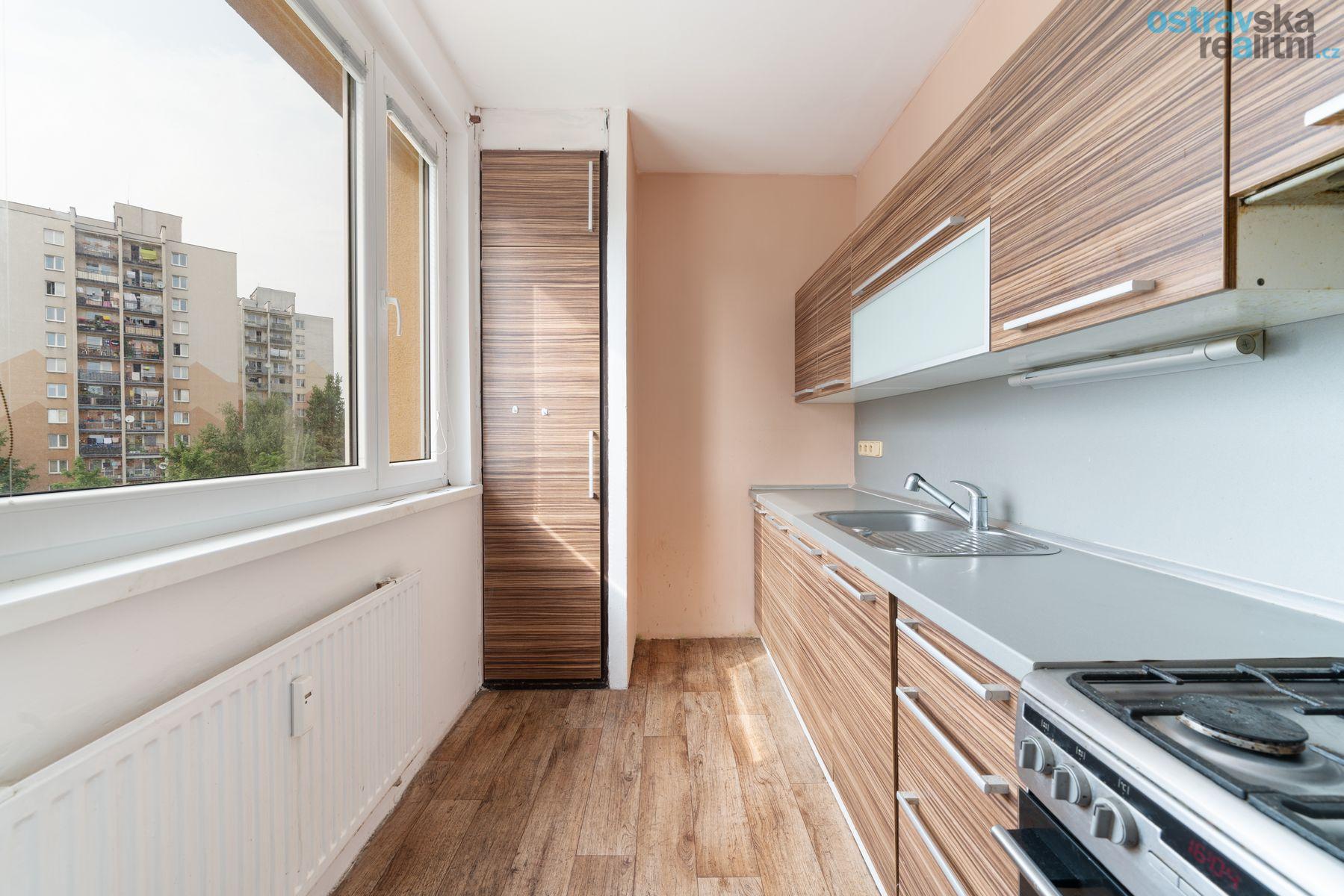 Prodej, byt 3+1 Ostrava - Dubina, ul. Emanuela Podgorného, 73 m2, lodžie