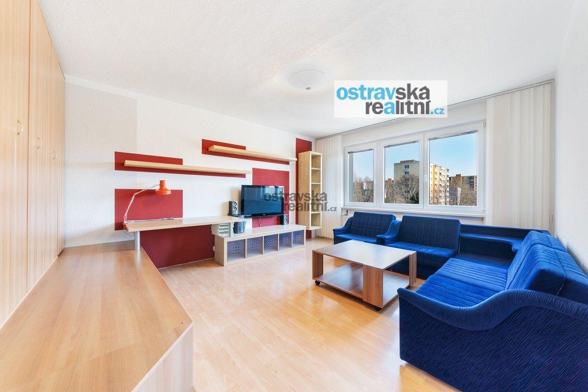 Pronájem, zařízený byt 1+1, Ostrava - Výškovice, ul. Šeříkova, 39 m2