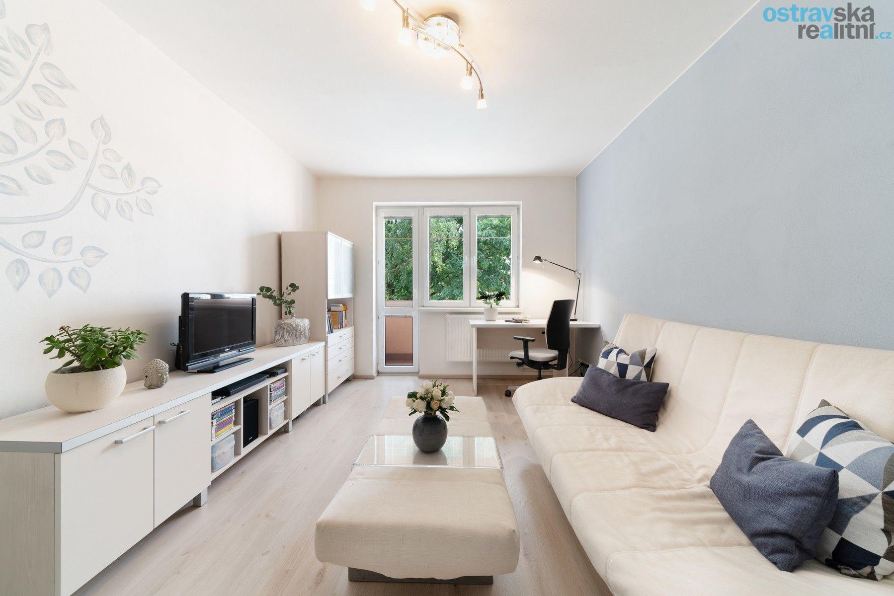Prodej, byt 2+1 po rekonstrukci, Ostrava - Zábřeh, ul. Patrice Lumumby, 56 m2