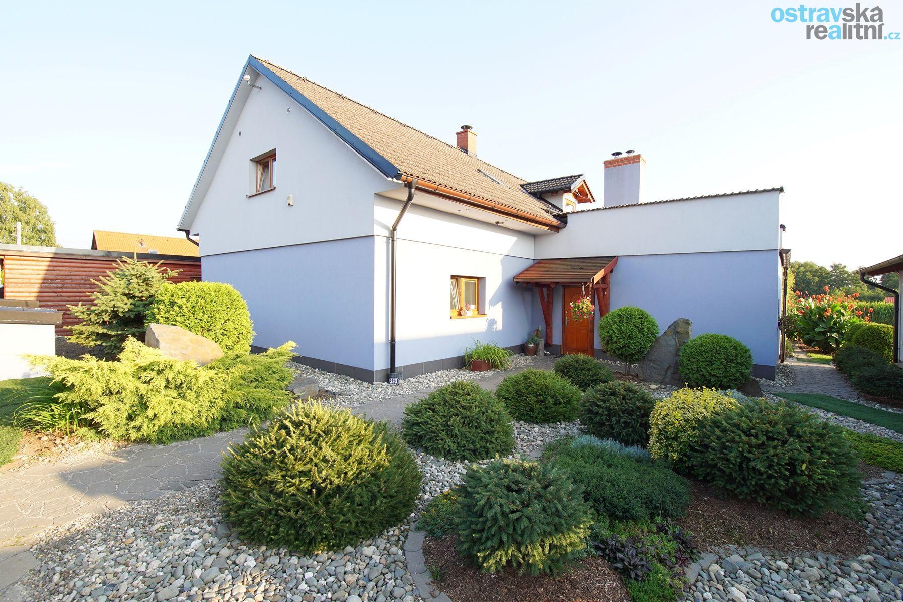 Prodej, rodinný dům, Dolní Lutyně, ul. Luční, 280 m2, zahrada 1627 m2