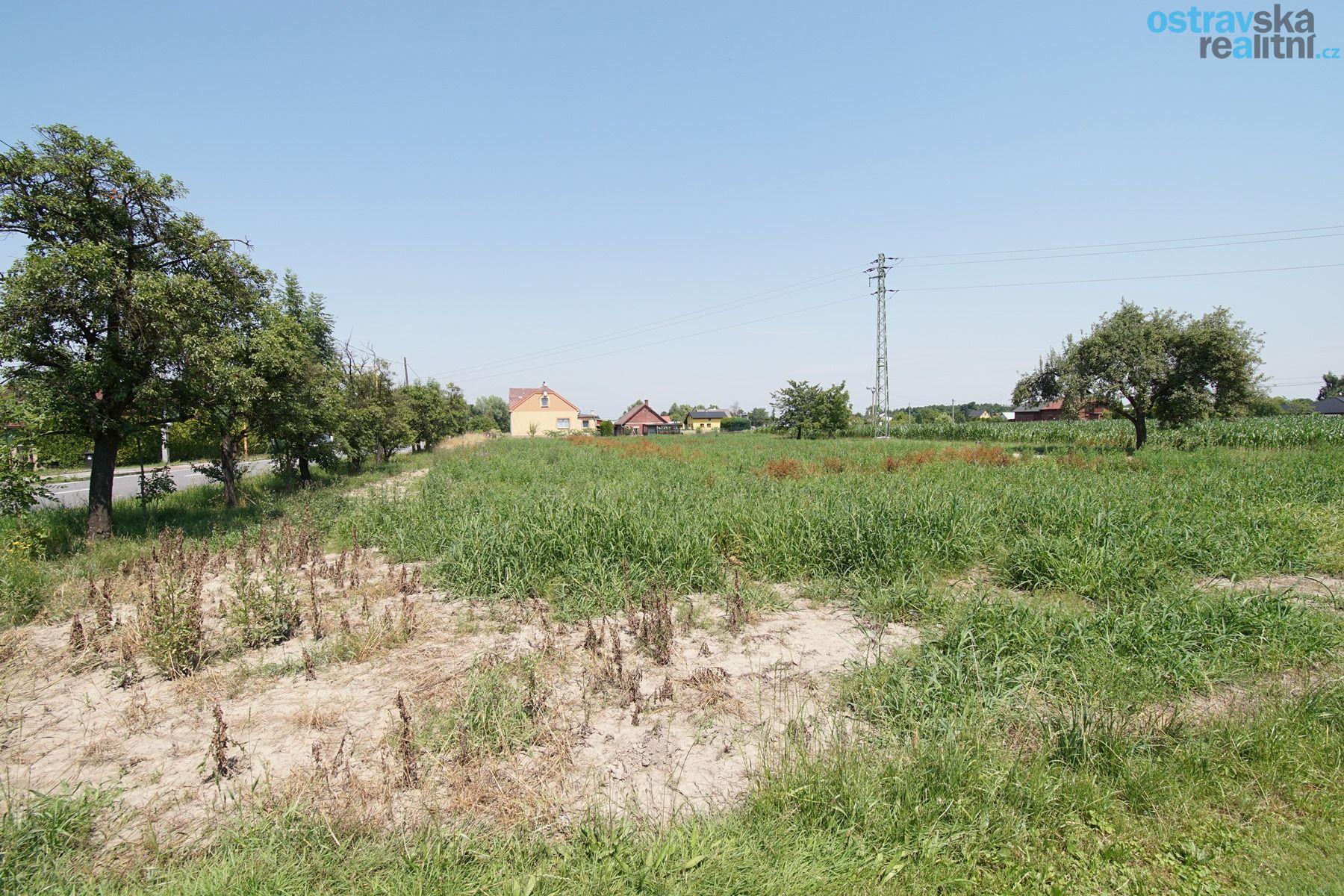 Prodej, stavební pozemek 1000 m2, Rychvald, ul. Bohumínská