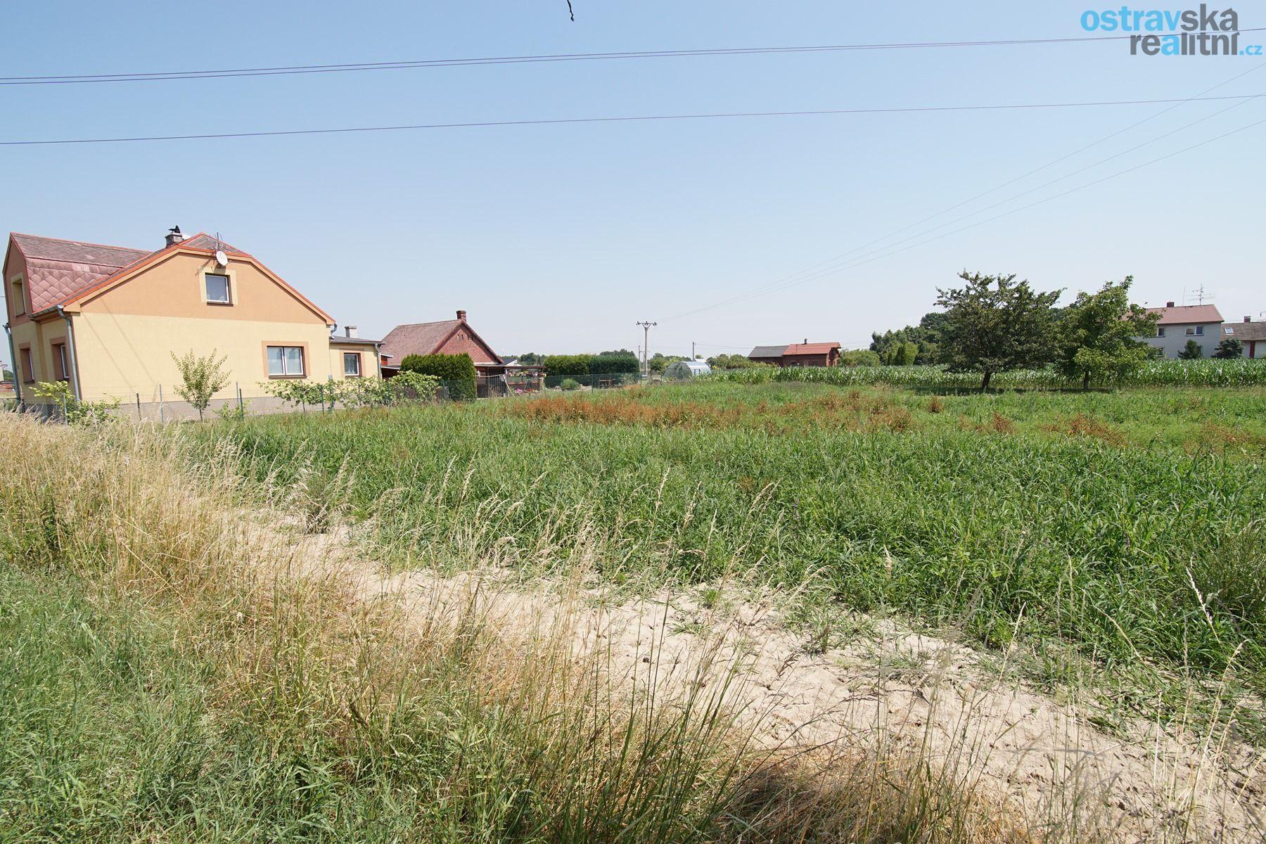 Prodej, stavební pozemek 1896 m2, Rychvald, ul. Bohumínská