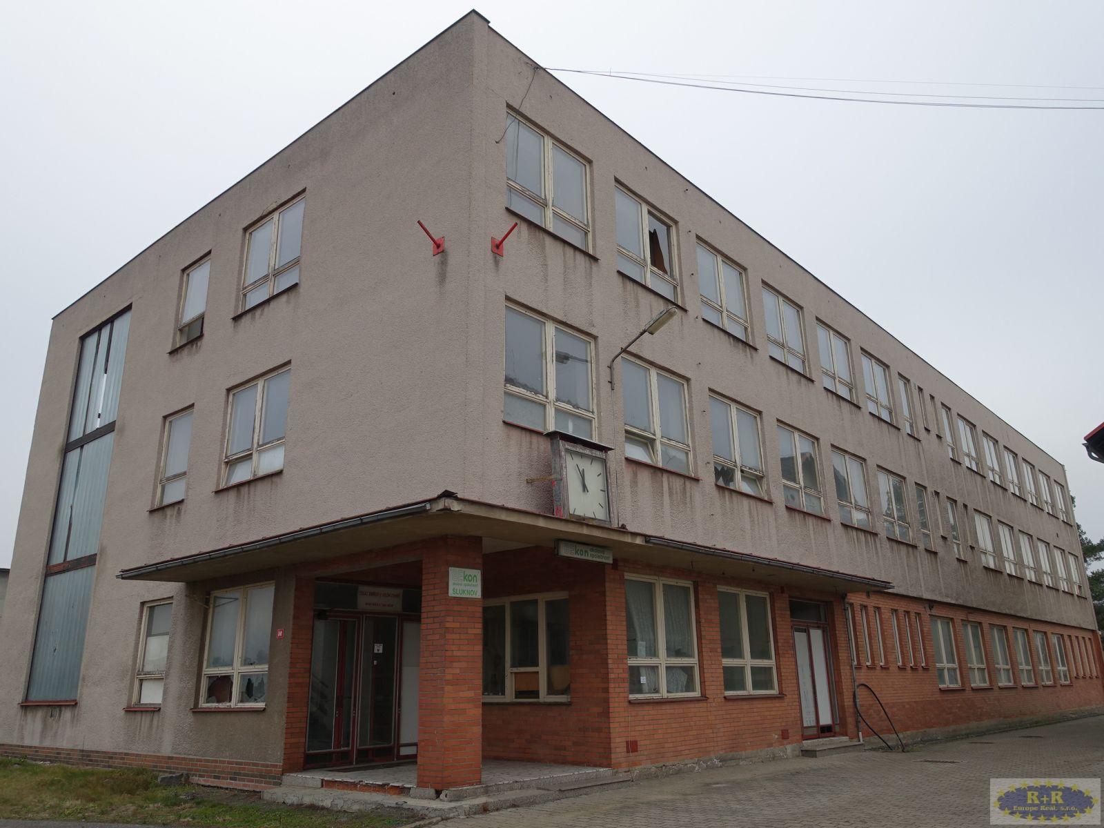 Bytový dům 2.292 m2, ul. Tovární, Šluknov.