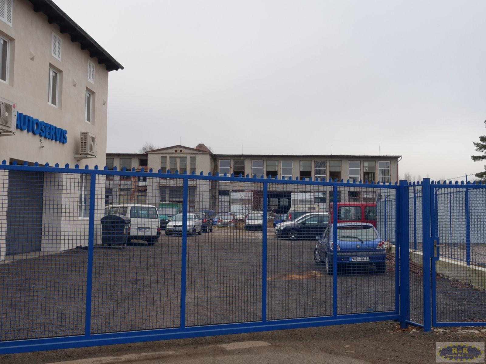 Výrobní hala ve Šluknově, ul. Tovární.