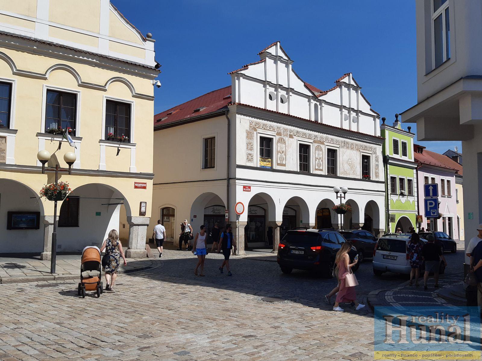 Pronájem nebytových prostorů v centru Pelhřimova