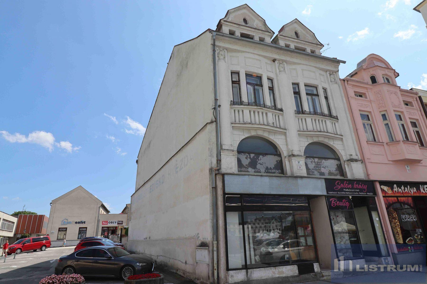 Prodej činžovního domu na ul. Masarykovo náměstí, Karviná