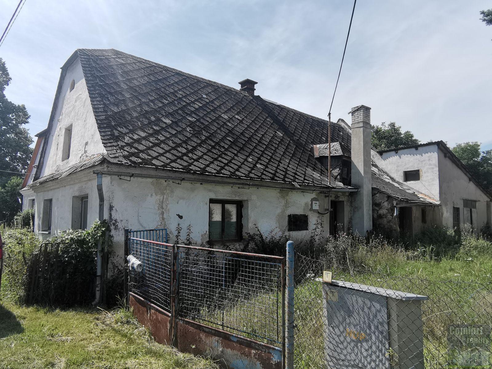 Prodej rodinného domu 2+1 se stodolou, okr. Bruntál, Horní Benešov, Luhy