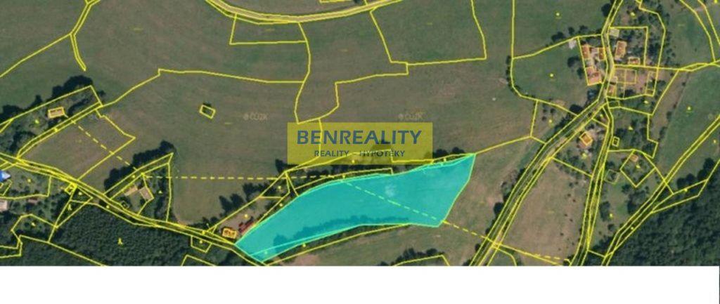 Prodej pozemku 8290 m čtverečních v katastru obce Lípa nad Dřevnicí s jedinečným výhledem do krajiny