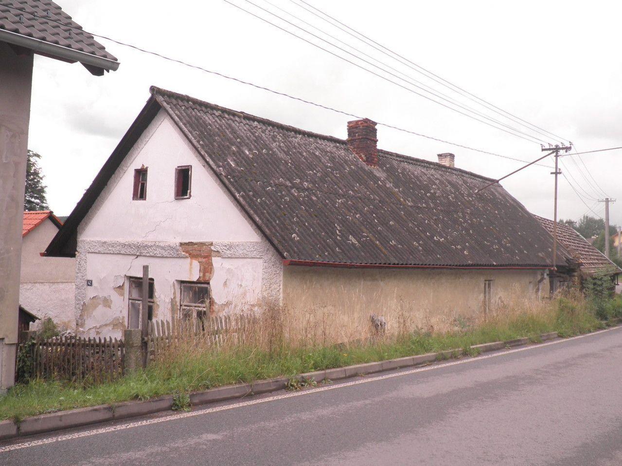 Rodinný domek v obci Kejžlice u Humpolce