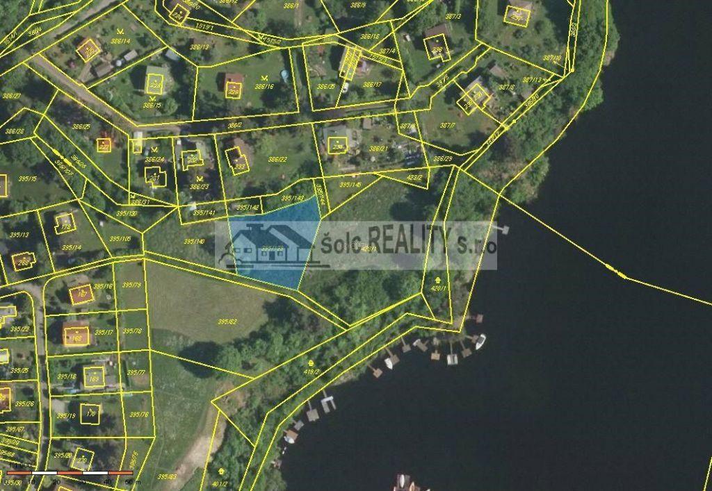 Prodej pozemku o výměře 1.135 m2