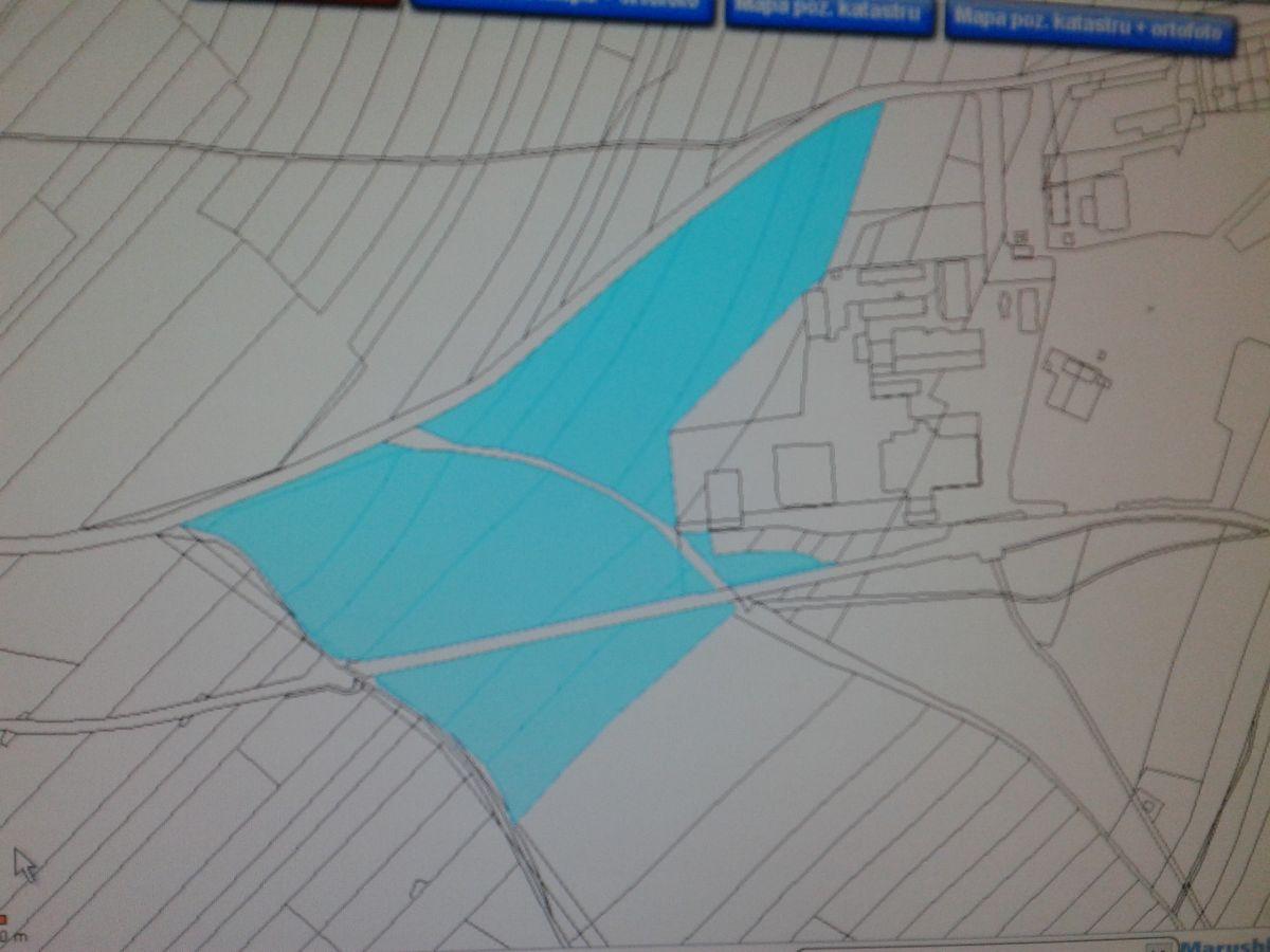 Pozemek na stavbu výrobní haly/skladu