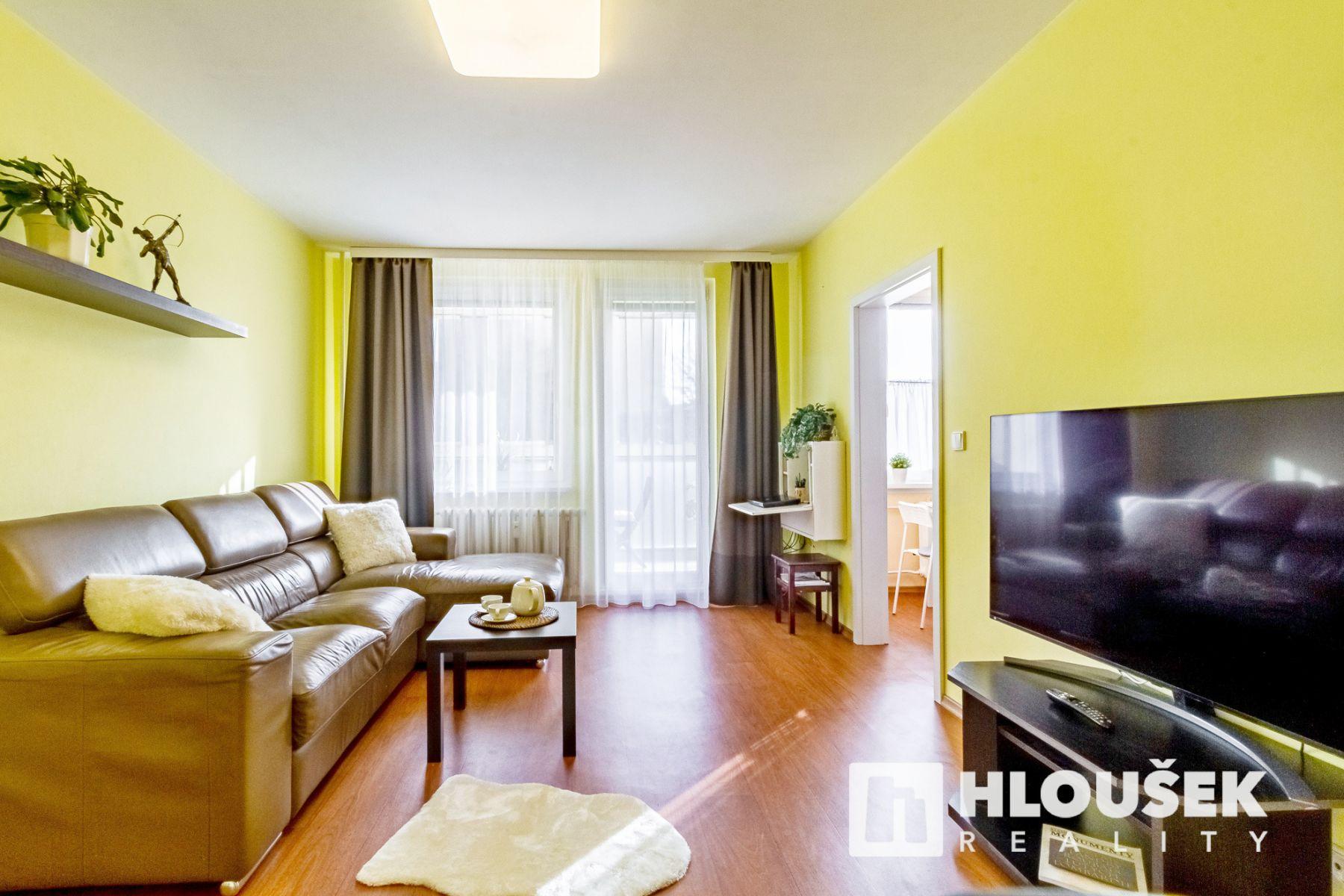 PRODÁNO Prodej bytu dr. 3+1/L, Praha 4 - Háje, ul. Hekrova
