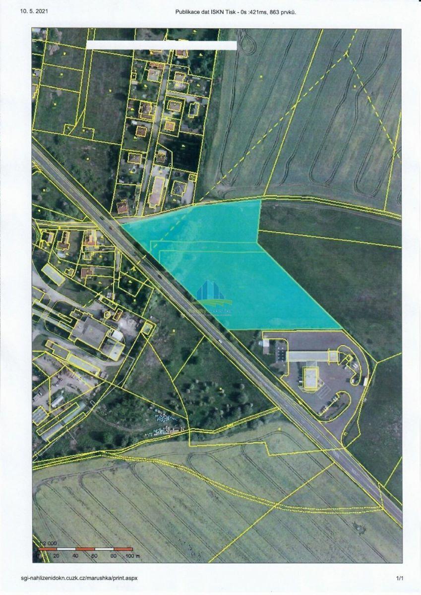 Komerční stavební pozemek 16.056m, Horní Lomany, Fr. Lázně na prodej