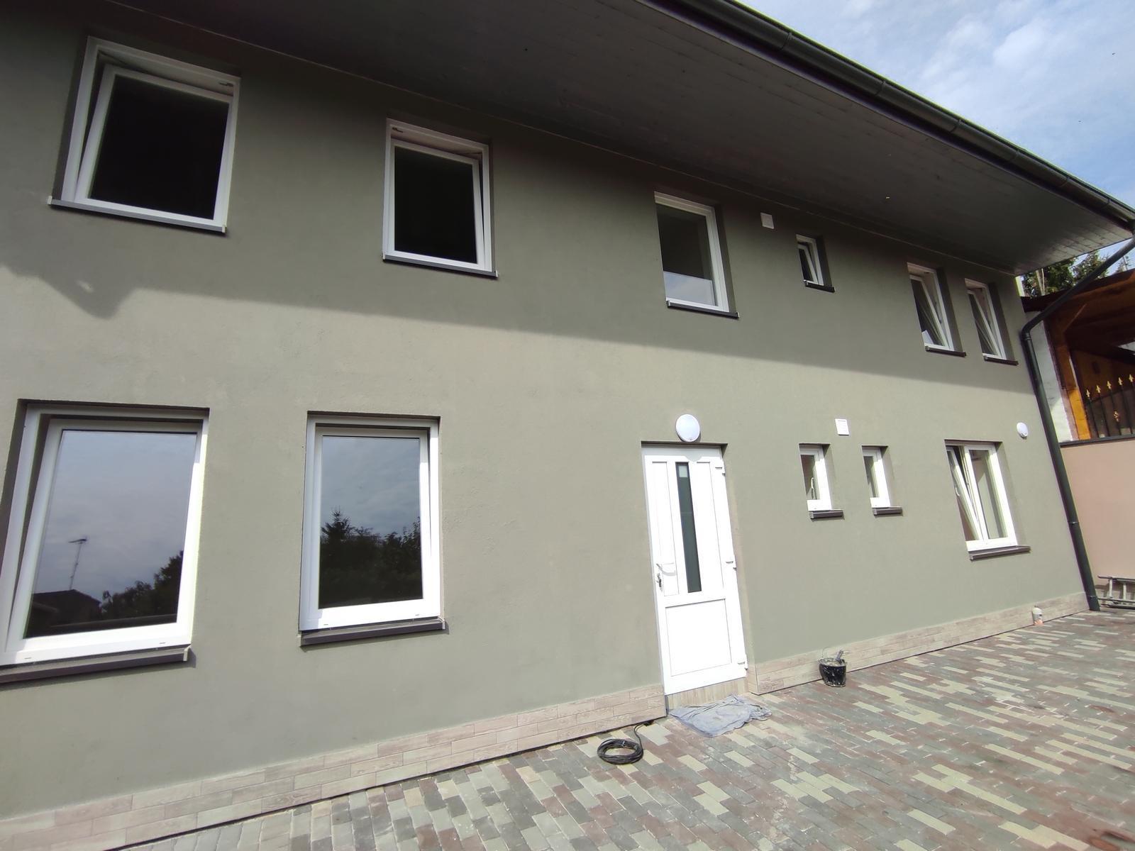 Novostavba domu 3+1 vhodného na firemní zázemí, Lužec nad Vltavou