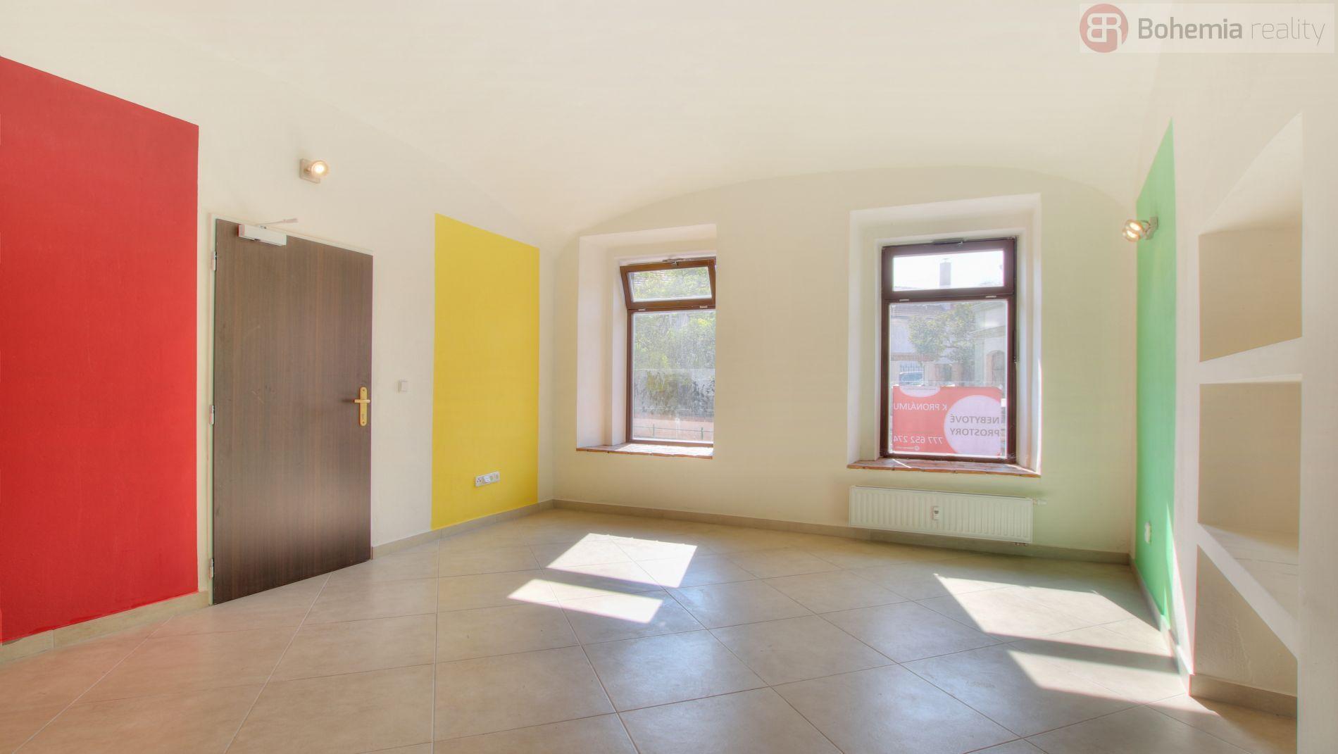 Pronájem nebytového prostoru, přízemí, 40 m2, Brandýs nad Labem